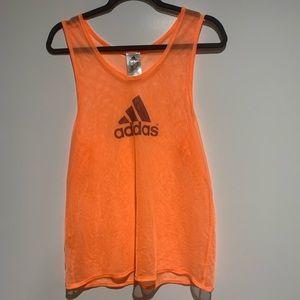 Adidas mesh workout tank